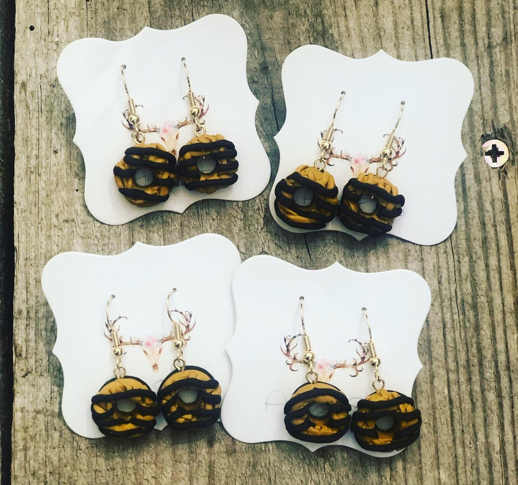 Girl Scout Cookie Earrings