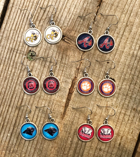 Sports Team Dainty Charm Earrings