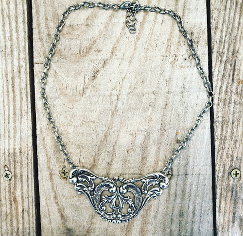 Large Filigree Necklace