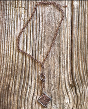 Load image into Gallery viewer, Soldered Dog Wood Flower Pendant Necklace