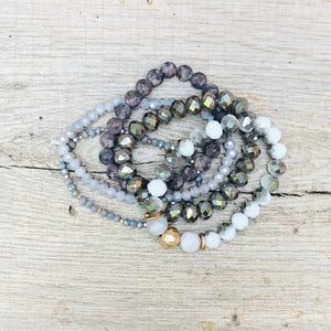 Kimberly Beaded Bracelet Stack