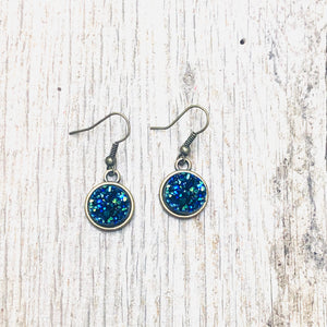 Dangle Druzy Earrings (Multiple colors)