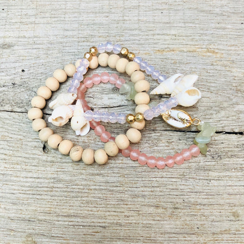 Tabitha Beaded Bracelet Stack