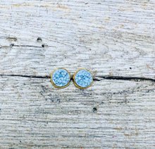Load image into Gallery viewer, Druzy Stud Earrings-16 colors