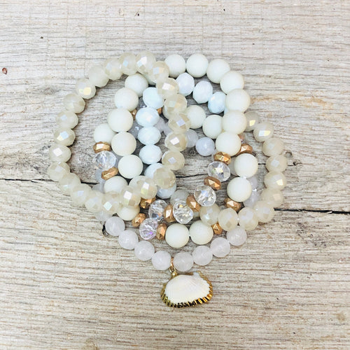 Holden Beaded Bracelet Stack