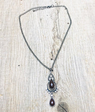 Load image into Gallery viewer, Brown Pendant Necklace