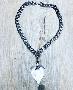 Savannah Heart Necklace