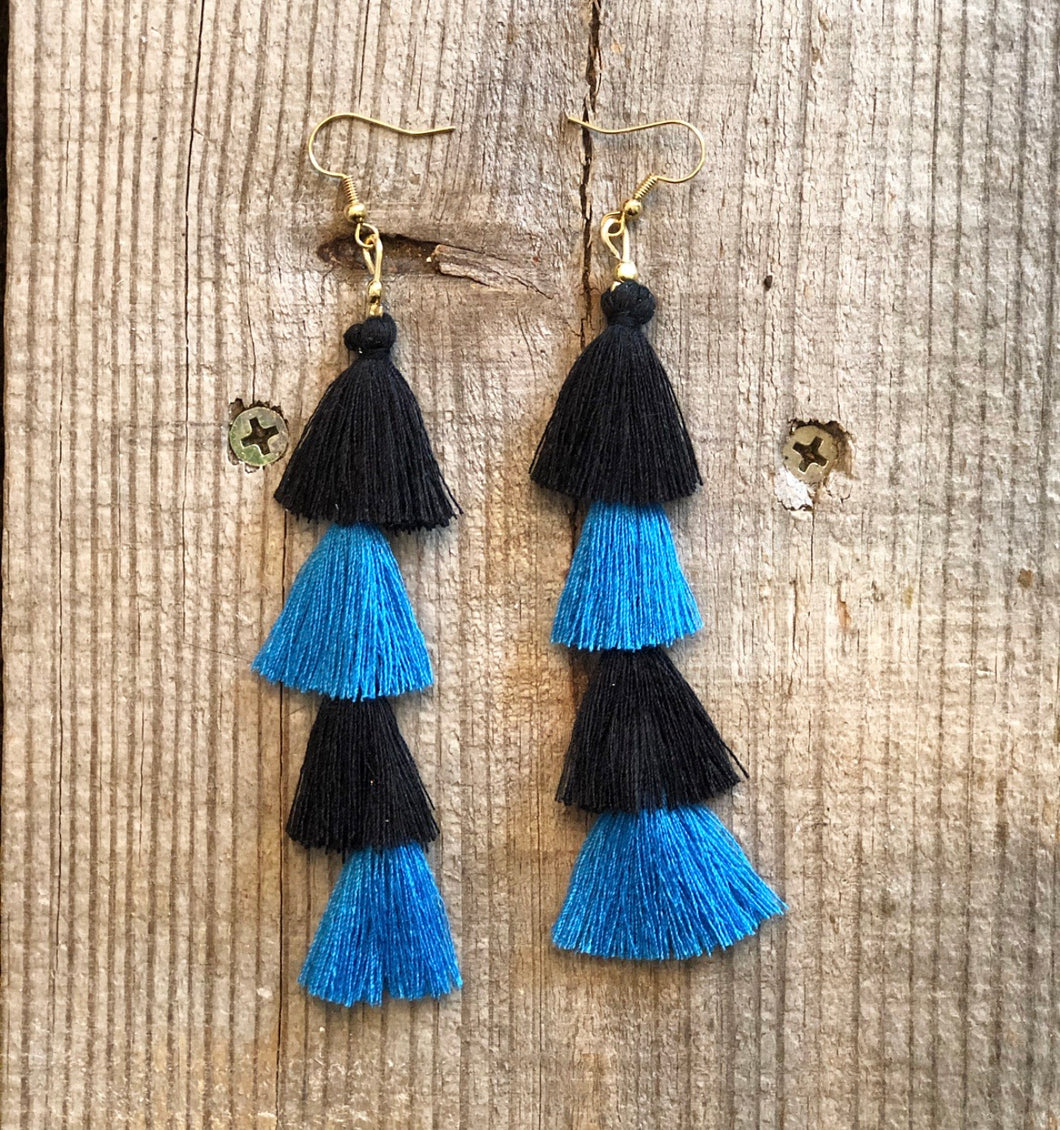 Stem Tassel Earrings (More colors available)