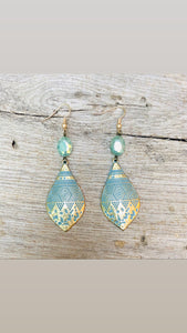Melissa Patina Earrings