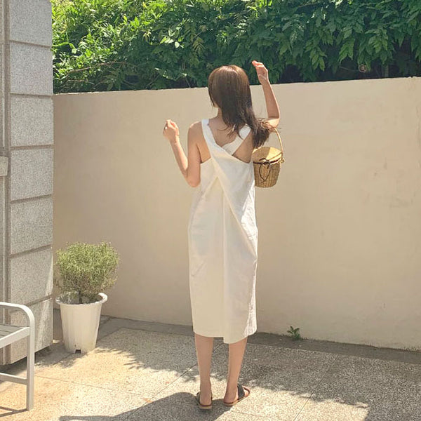 back cross natural onepiece