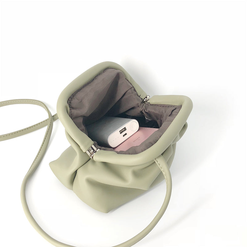 marshmallow mini bag