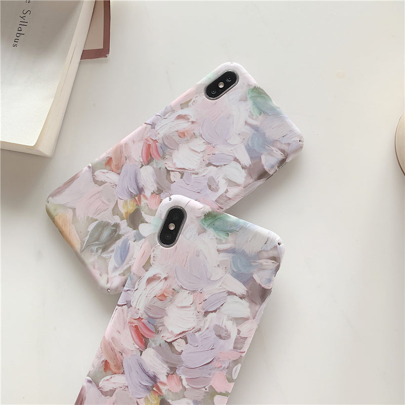 color palette design iPhone case
