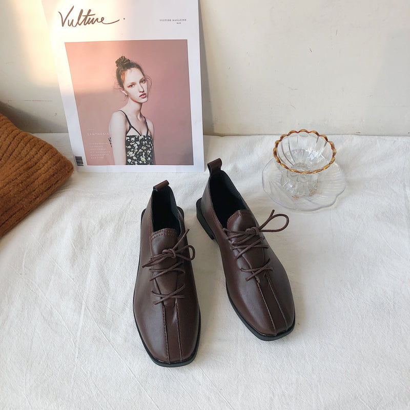 cross ribbon loafer
