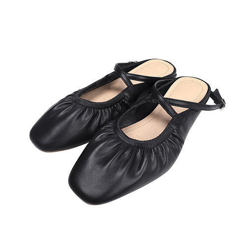 ankle ribbon ballet shoes