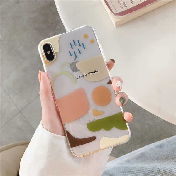 natural color iphone case
