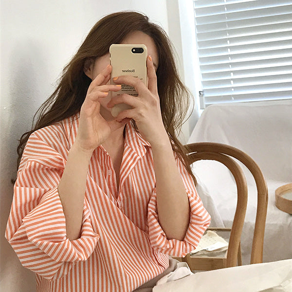 mannish stripe shirt