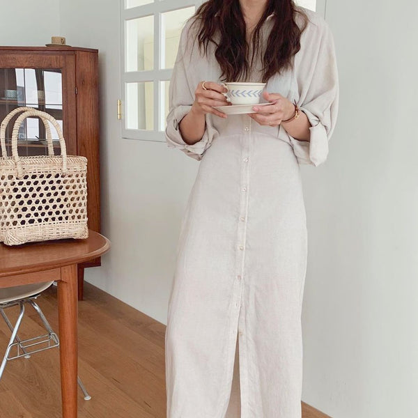 dolman sleeve natural onepiece