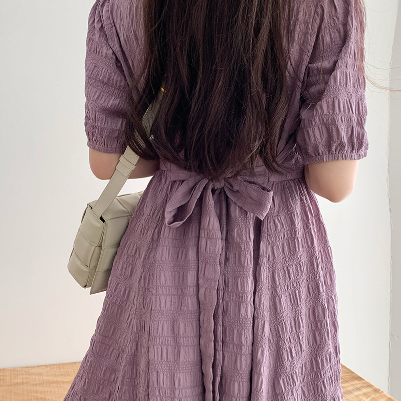 【GW限定アイテム】natural crinkle onepiece