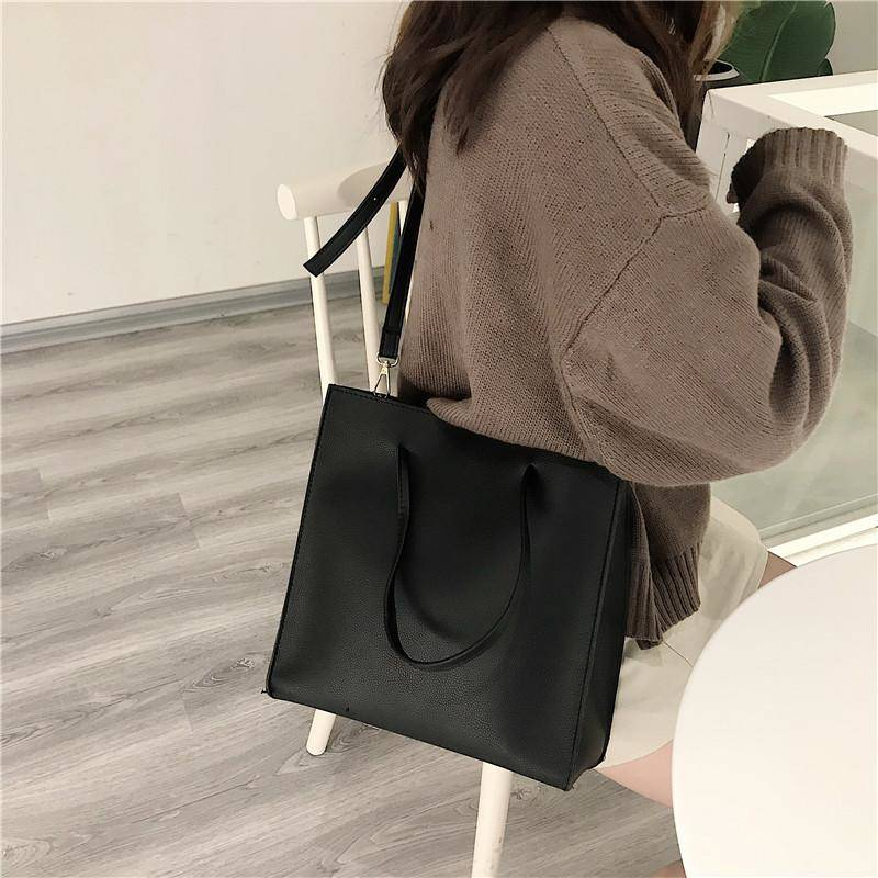 square  simple 2way bag