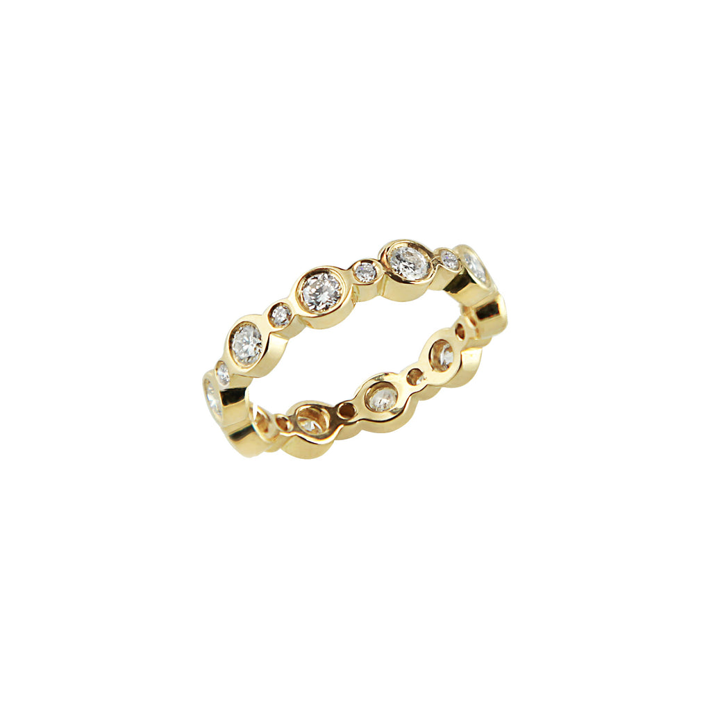 Eternity Alt Circles Ring