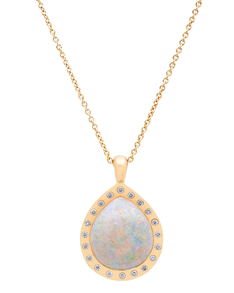 Andamooka Opal Necklace