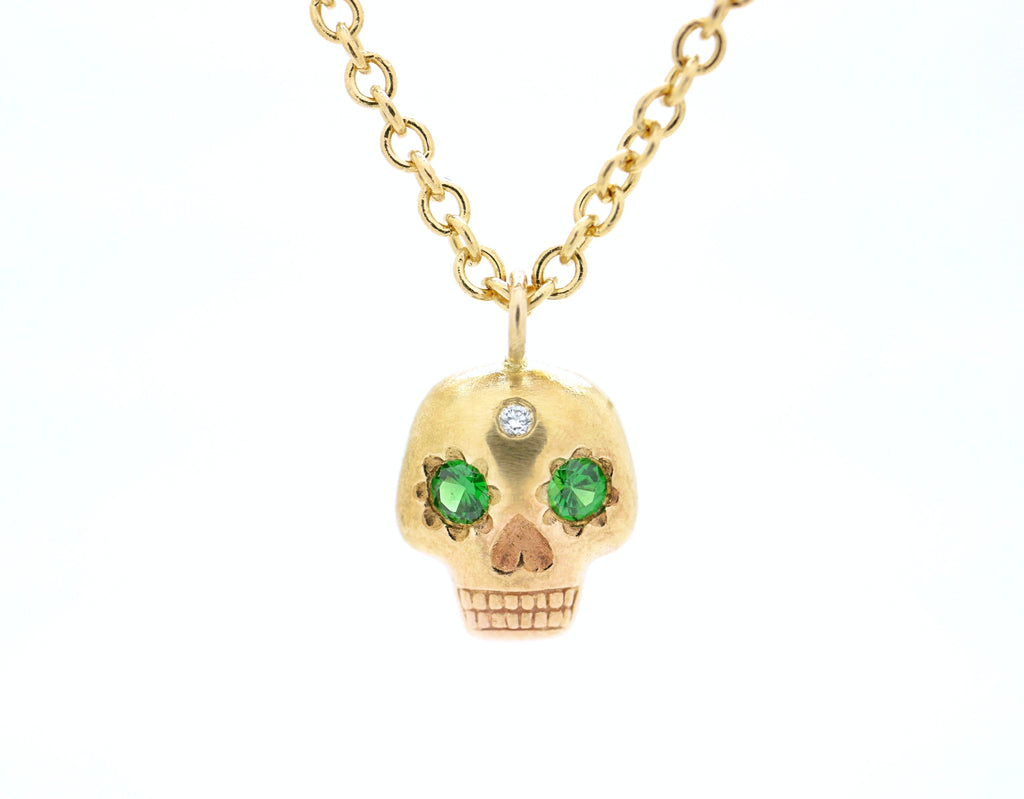 Yolo Skull Necklace