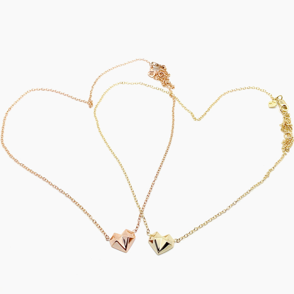Heart Stud Necklace