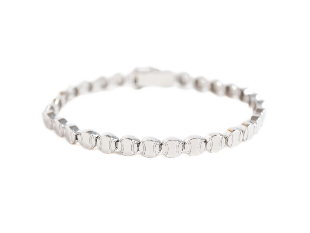 Tennis Bracelet in Platinum