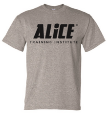 "ALICE ""Title"" 1-Sided T-Shirt - Gray"