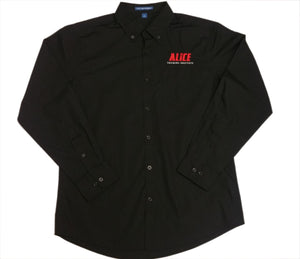 NEW ITEM! ALICE Button-Down Training Shirt