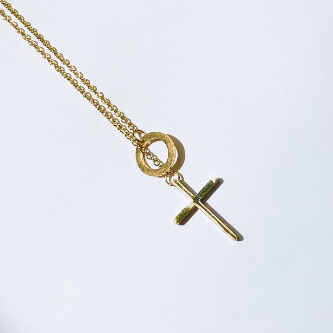 Adjustable Cross Necklace
