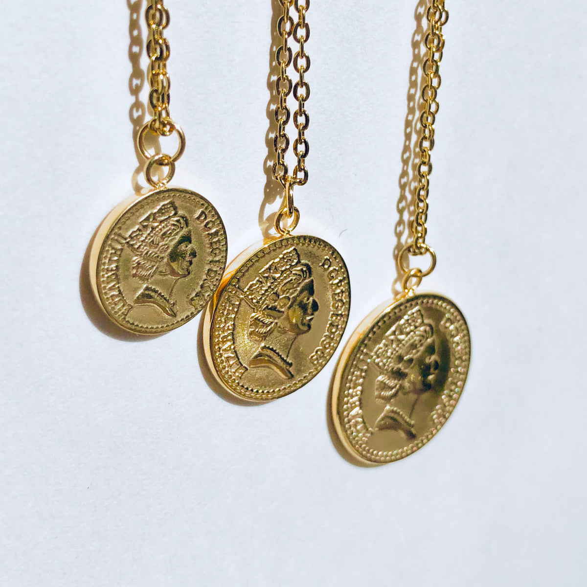 3 Tier Coin Necklace