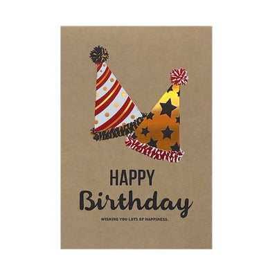 Happy Birthday HATS Card
