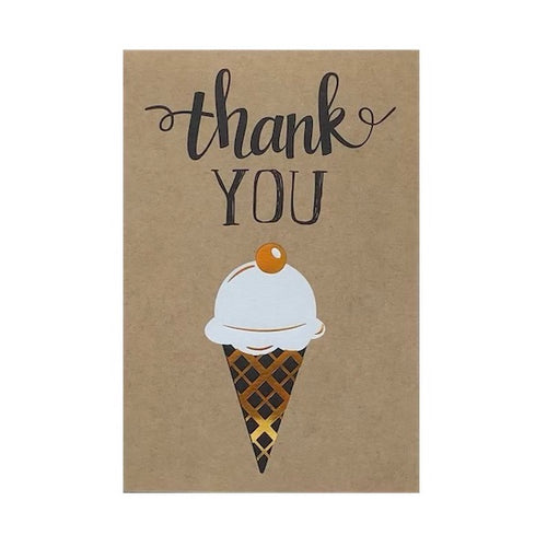 Thank You ICE CREAM Card