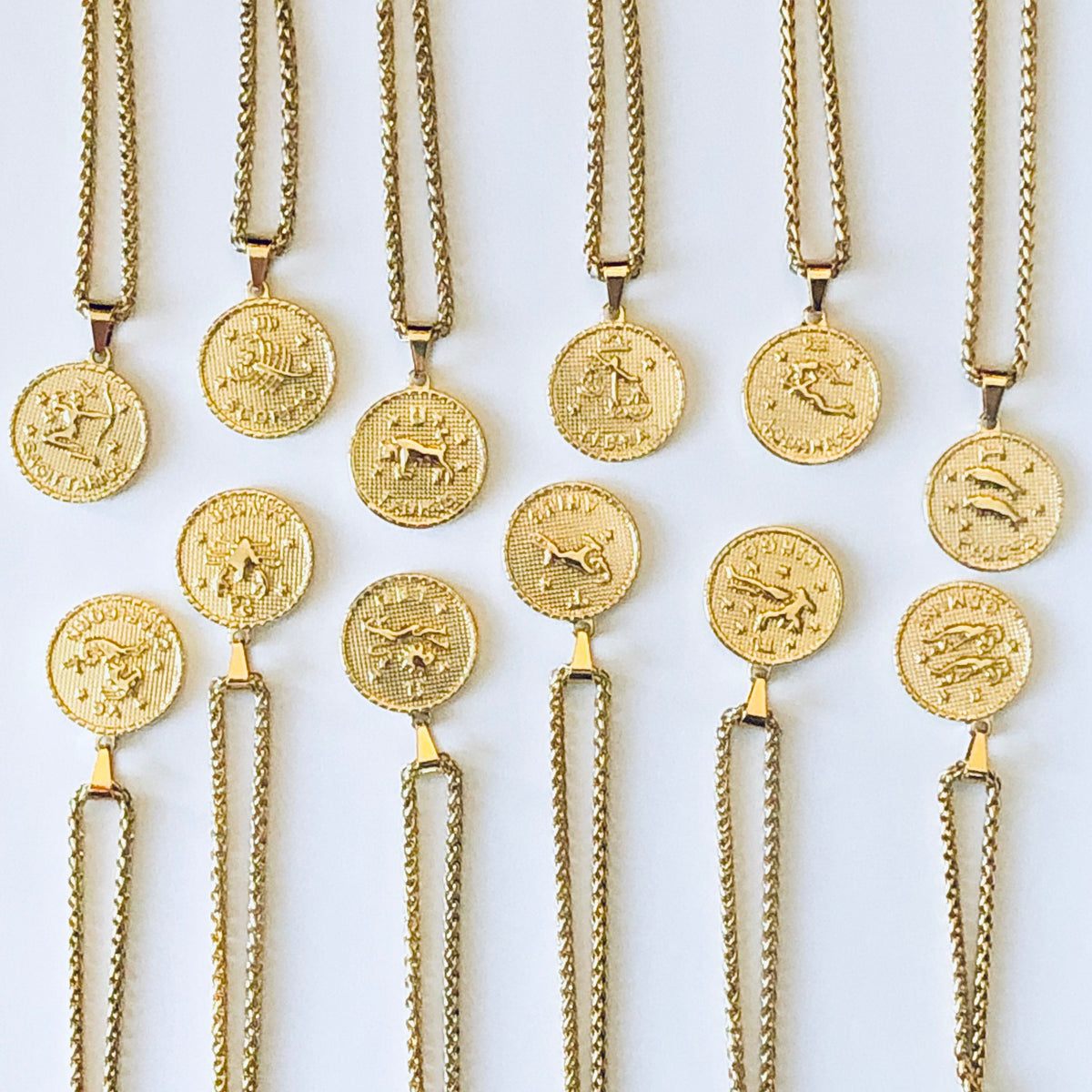 Pressed Zodiac Necklace