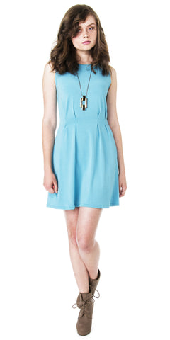 Mod A-line Dress with Peter Pan Collar