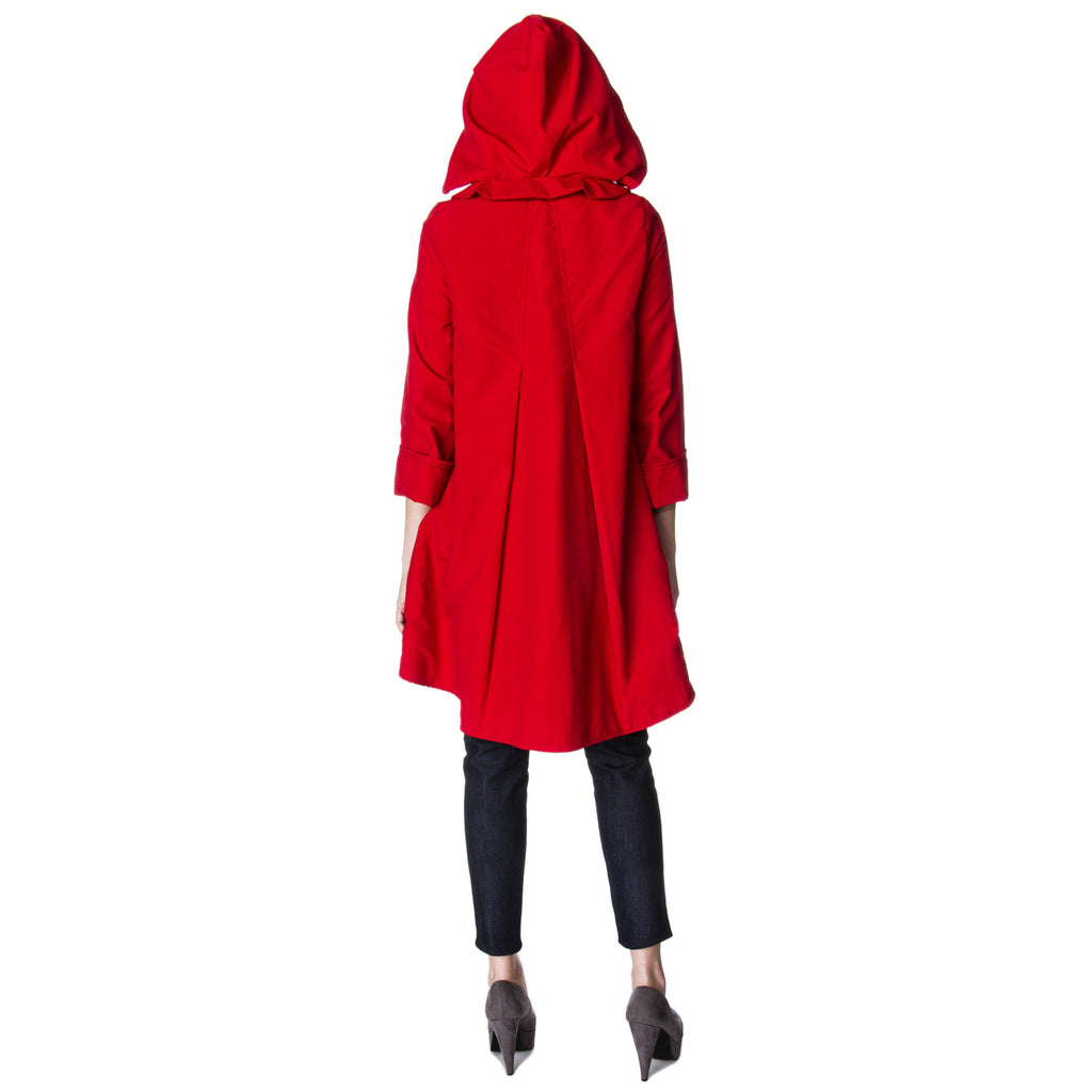 Astoria Waterproof Raincoat available in 15 different colors back View