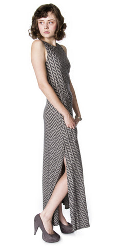 Organic Bamboo Bent Dart A-line Dress