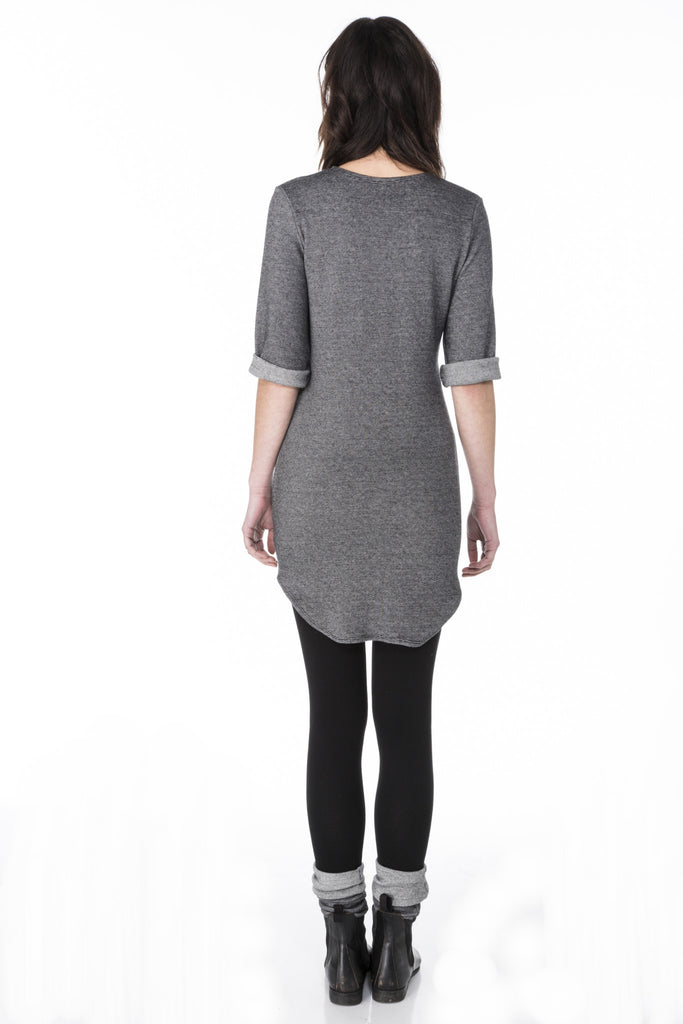 Solo Pleat Tunic Dress