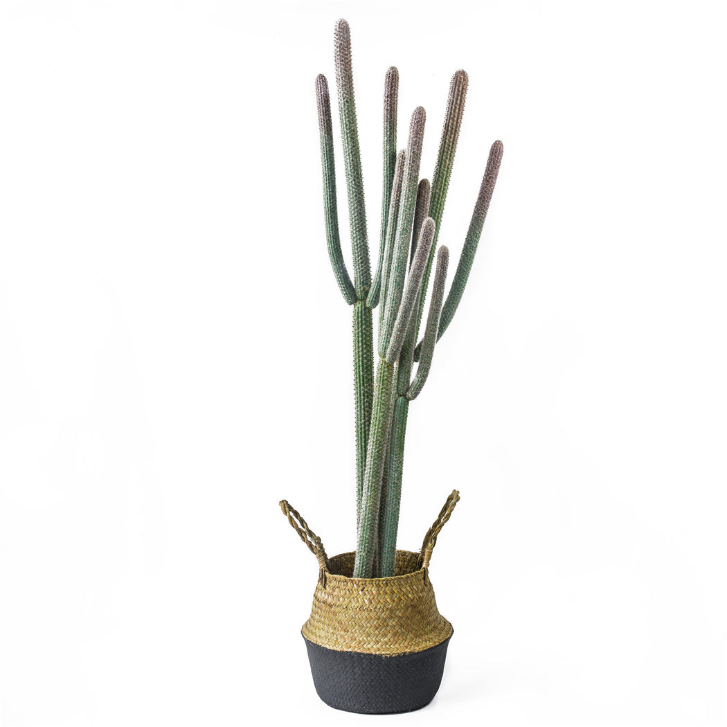 "NCYP 48"" Large Natural Looking Artificial Faux Fake Pink Tip Saguaro Cactus Desert Plant Indoor - NCYPgarden"