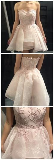 A-Line Homecoming Dress,Sweetheart Homecoming Dresses,Short  Dresses,Pearl 1181