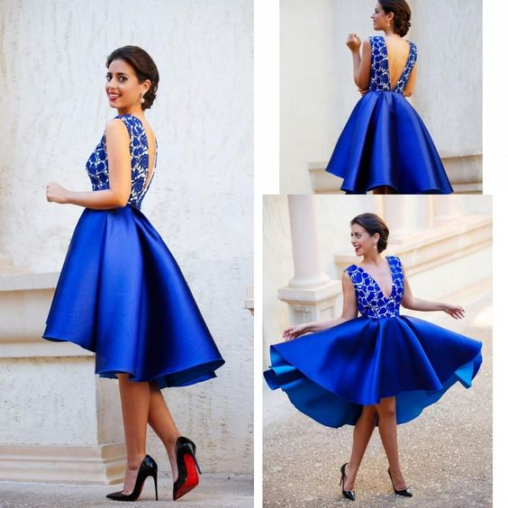 satin homecoming dress, homecoming dress,1223