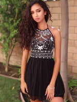 Short Homecoming Dress, A-Line Homecoming Dress ,1237