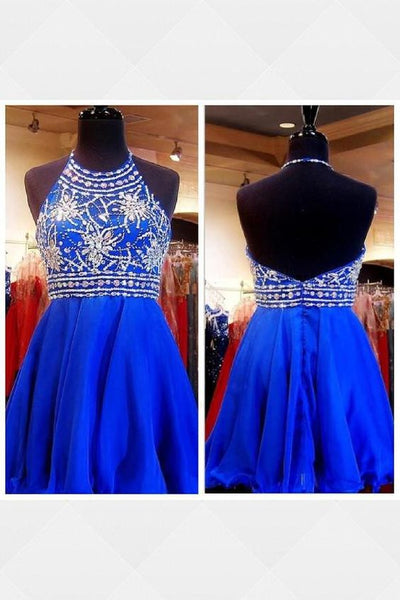 Customized Feminine Homecoming Dress Blue, Short Homecoming Dress, Cute Homecoming Dress, Homecoming Dress,1420