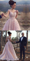blush pink wedding dress,elegant prom gowns,chic prom dress,long evening gowns,engagement dresses,dress bride