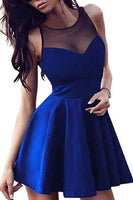 Royal Blue Homecoming Dresses,Cheap Homecoming Dress,Short  Dresses,Elegant  Dresses For Teens,A Line Homecoming Dress ,1700