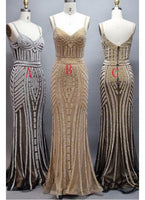 Long Prom Dresses, Silver Party Dress, Prom Dresses Sexy, Mermaid Prom Dresses,1777