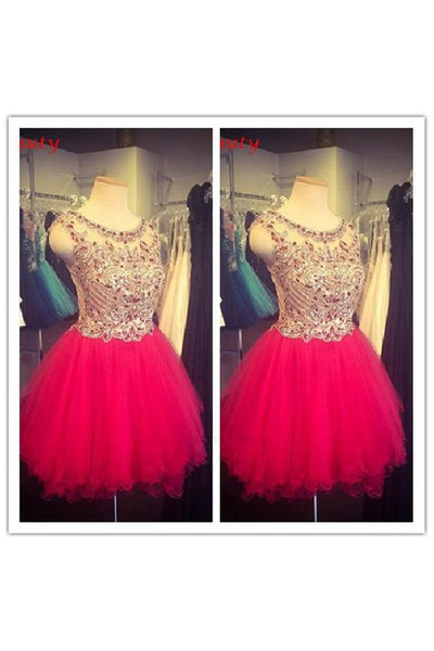 Customized Delightful 2019 Dresses, Red Dresses,homecoming dress,1994