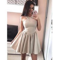 Simple Cheap Halter Lovely On Sale Short Homecoming Dresses, JJ19