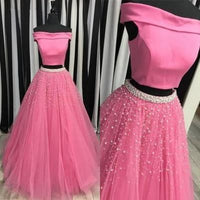 Charming Pink Prom Dress,Ball Gown Prom Dress,Prom Dress,Long Prom Dress from Butterfly Love,JJ528